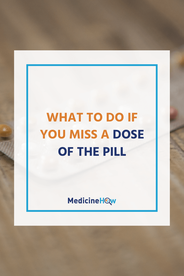 The oral contraceptive pill is a very effective way to prevent pregnancy but it's not without some risk of failure... especially if you forget to take it on time. Follow this guide to know what to do if you miss a dose, or save it for later!