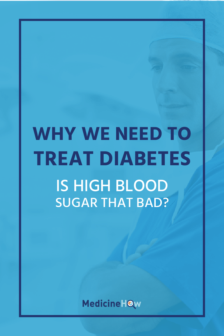 If you have diabetes, you might be wondering why having high blood sugar is so bad... Is there really a need for treatment? There are many reasons why diabetes can be dangerous for your body and health, so let's get into the details!