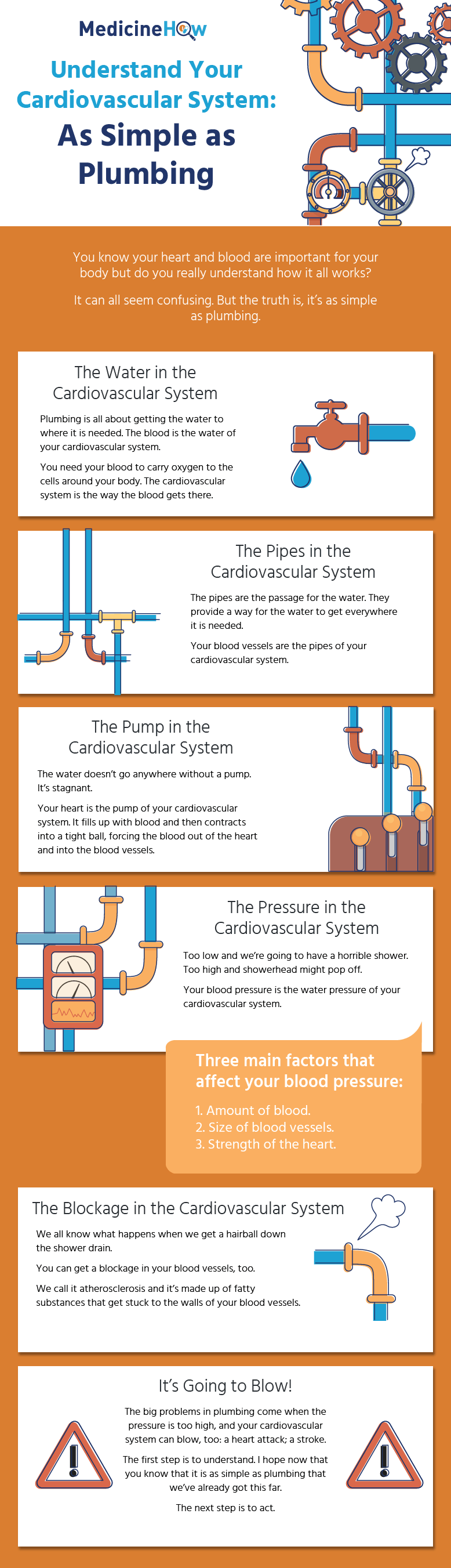 You know your heart and blood are important for your body but do you really understand how it all works? It can all seem confusing. But the truth is, it's as simple as plumbing.