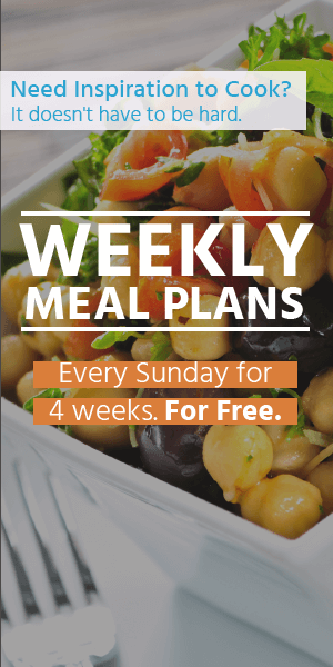 Free Weekly Meal Plans Banner
