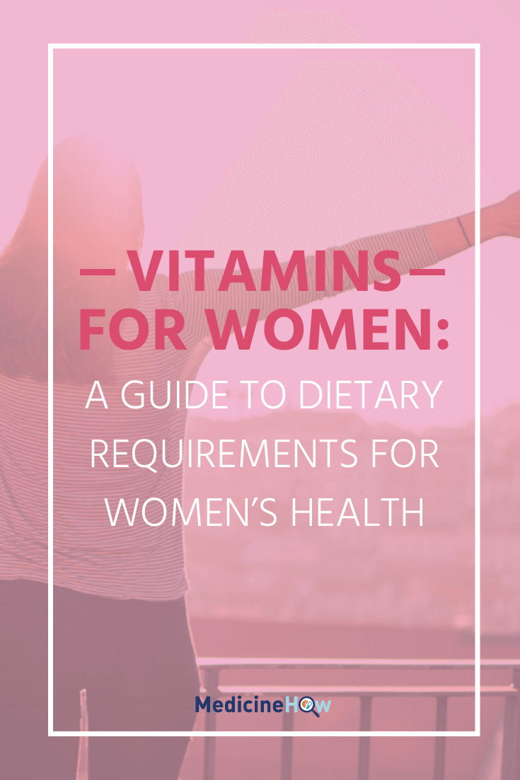 Not quite sure which vitamins you need the most of to feel the healthiest you can be? This is a complete guide to vitamins, specifically for women. Vitamins for women, pregnant women and breastfeeding women, it's all here. Free reference guide included!