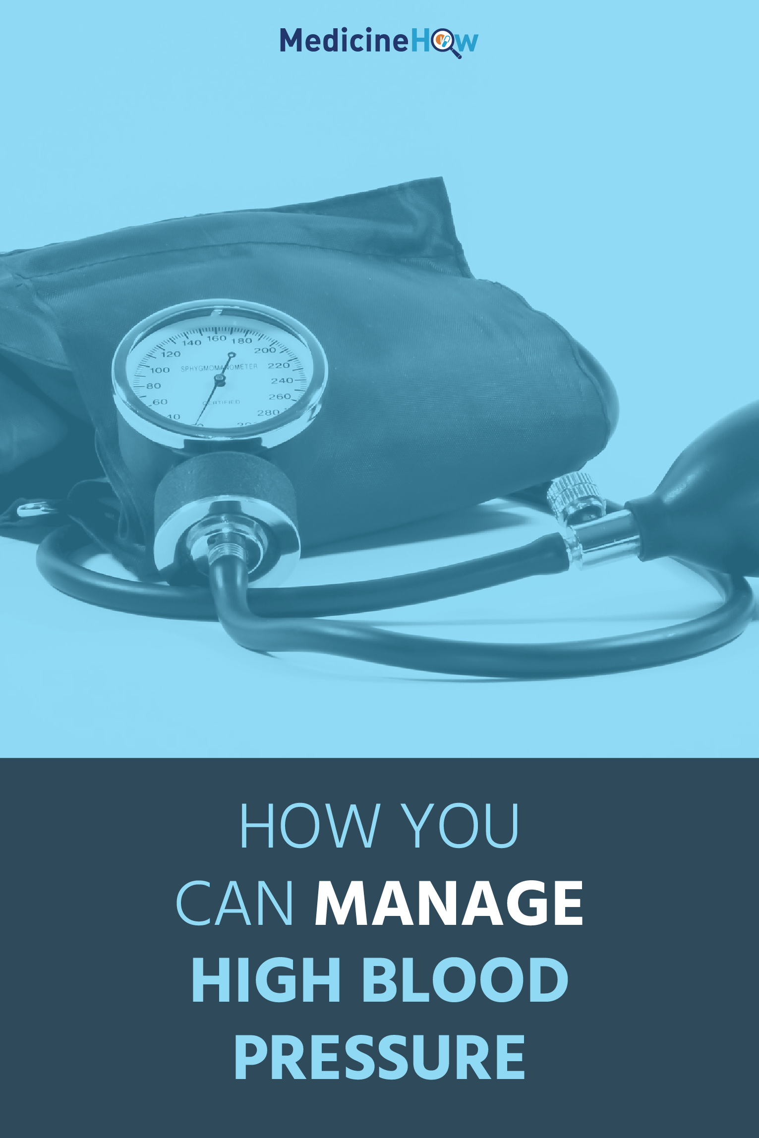 How You Can Manage High Blood Pressure