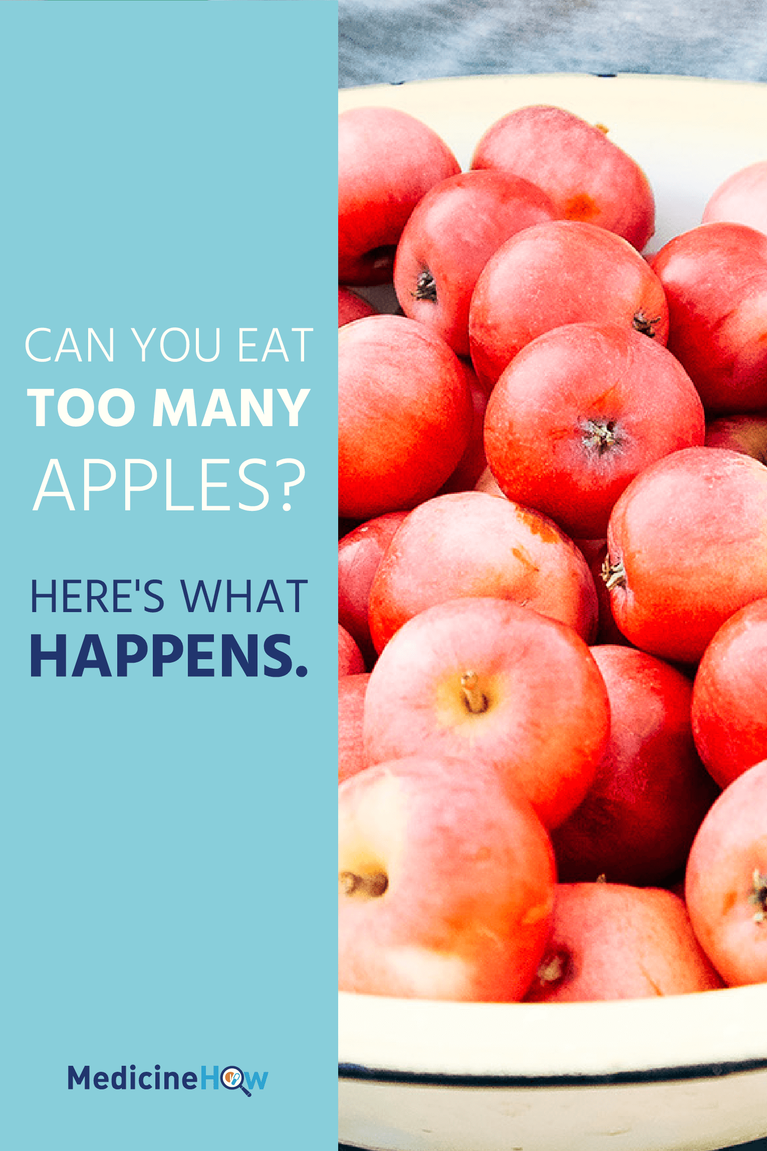 Can You Eat Too Many Apples? Here's what happens.
