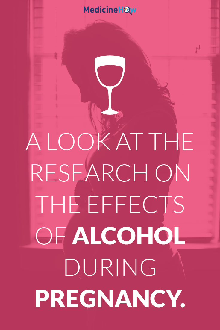 A look at the research on the effects of alcohol during pregnancy.