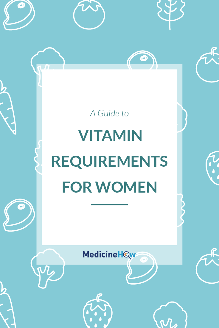 A Guide to Vitamin Requirements for Women
