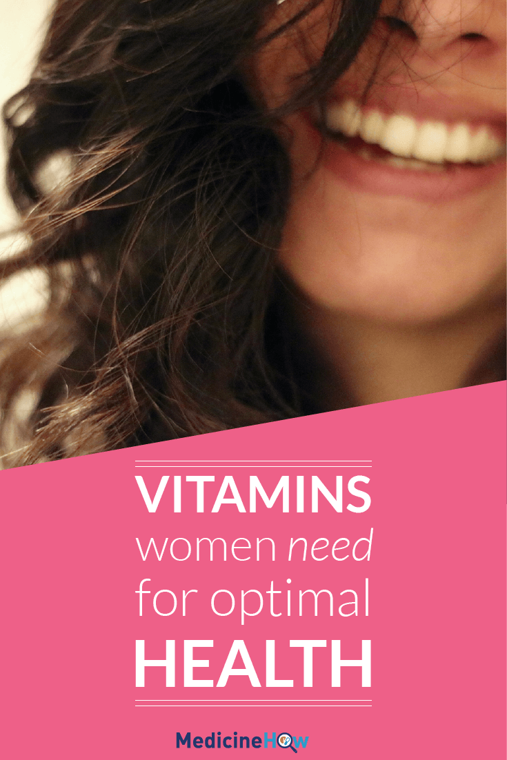 Vitamins Women Need For Optimal Health
