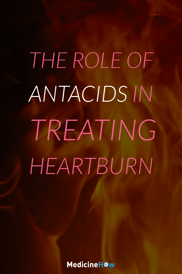 The role of antacids in treating heartburn