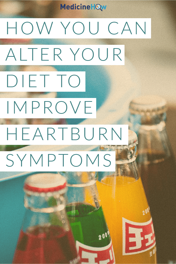 How you can alter your diet to improve heartburn symptoms