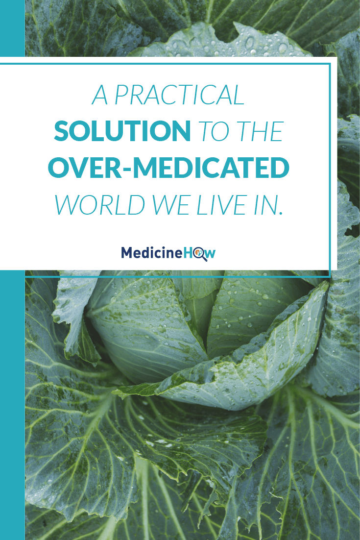 A practical solution to the over-medicated world we live in.