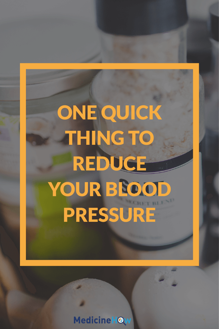 One Quick Thing to Reduce Your Blood Pressure