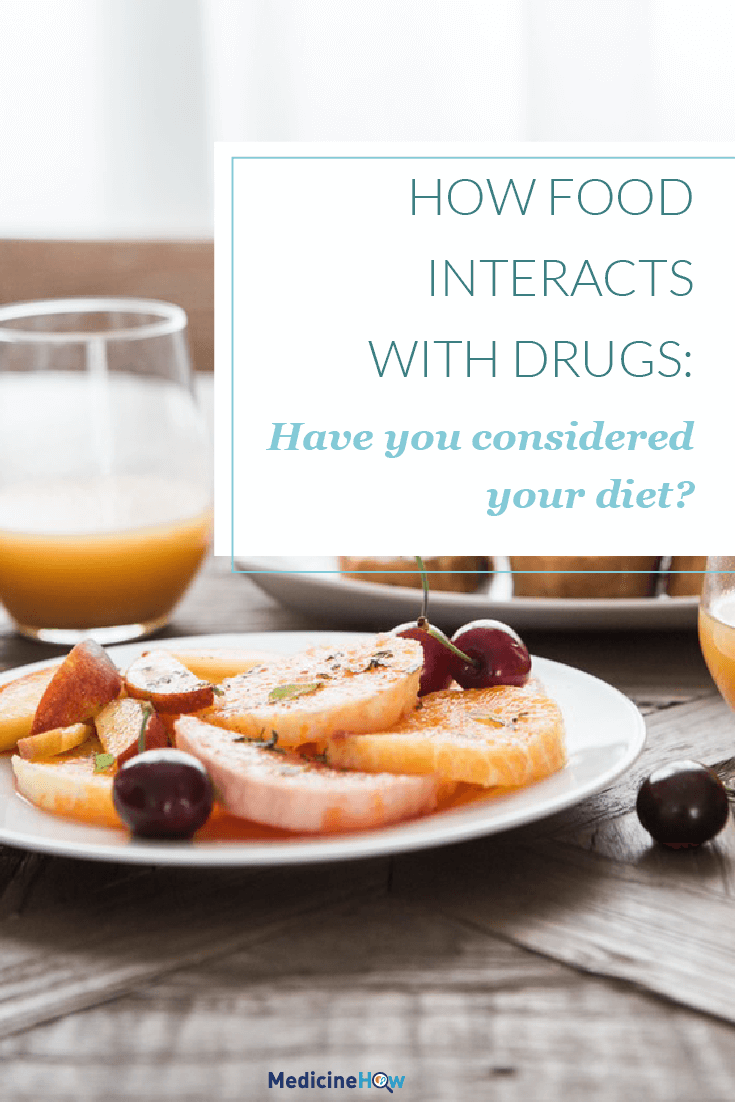 How Food Interacts with Drugs: Have you considered your diet?