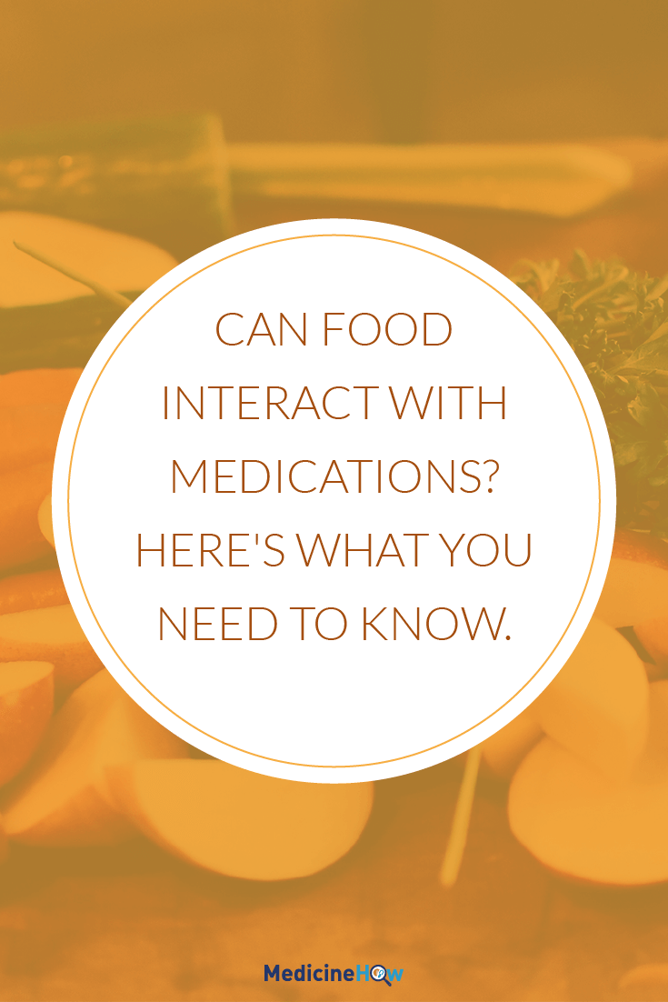 Can food interact with medications? Here's what you need to know.
