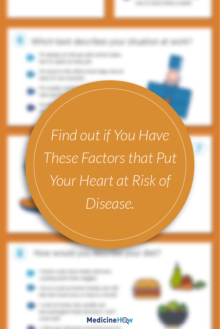 Find out if You Have These Factors that Put Your Heart at Risk of Disease.