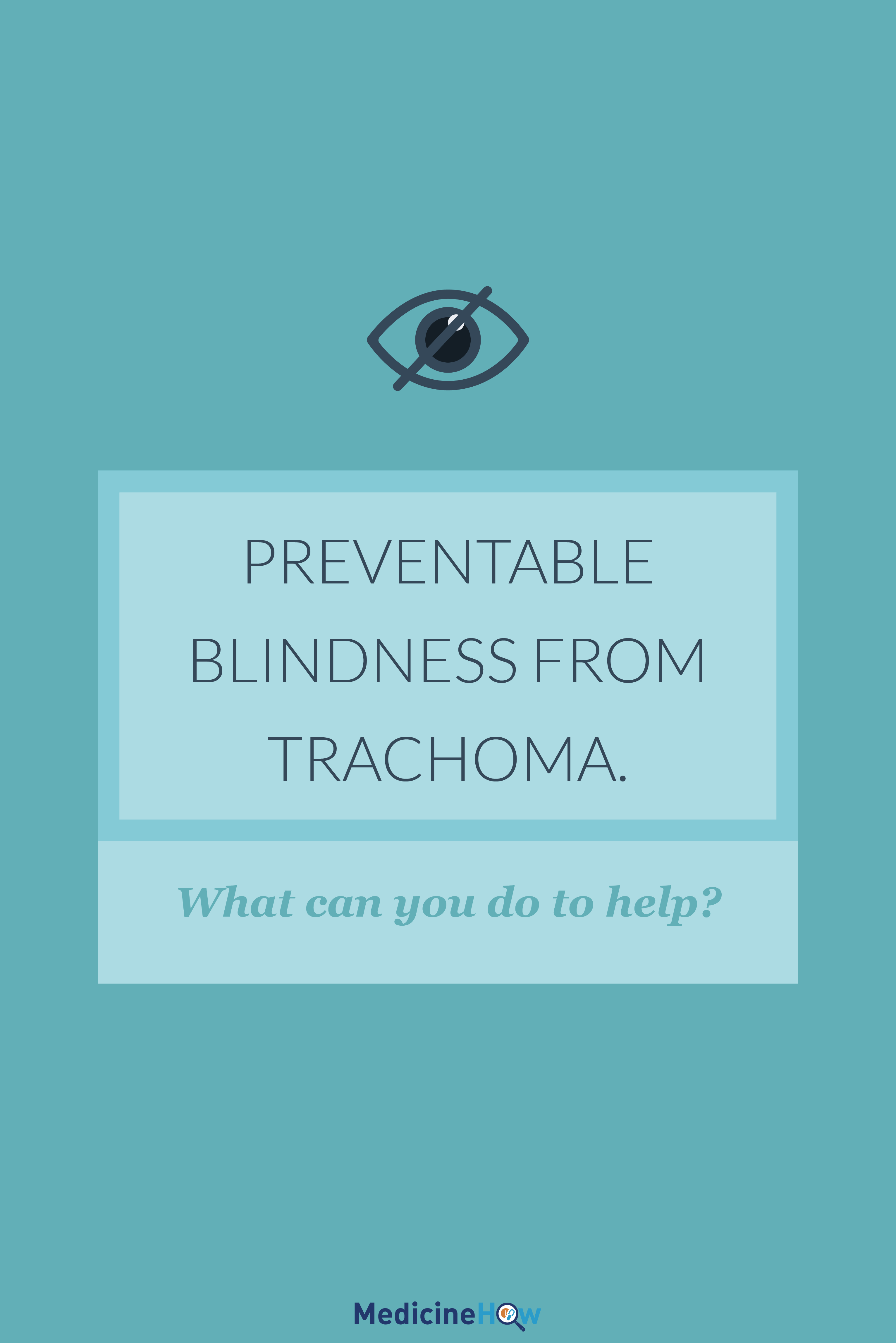 Preventable Blindness From Trachoma. What can you do to help?