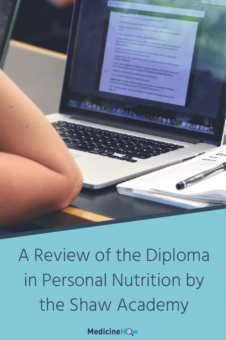 A Review of the Diploma in Personal Nutrition by the Shaw Academy