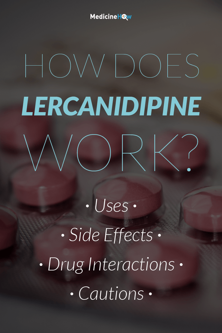 How Does Lercanidipine Work?