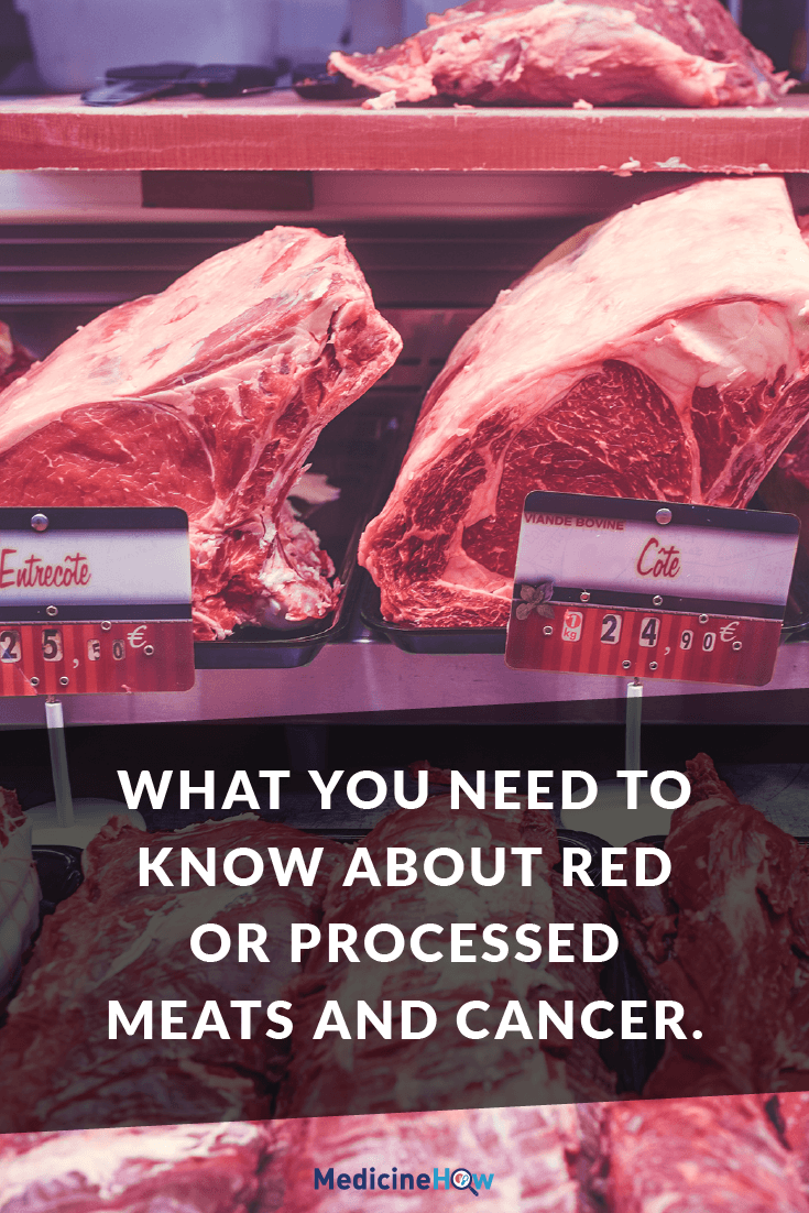 What you need to know about Red or Processed Meats and Cancer.