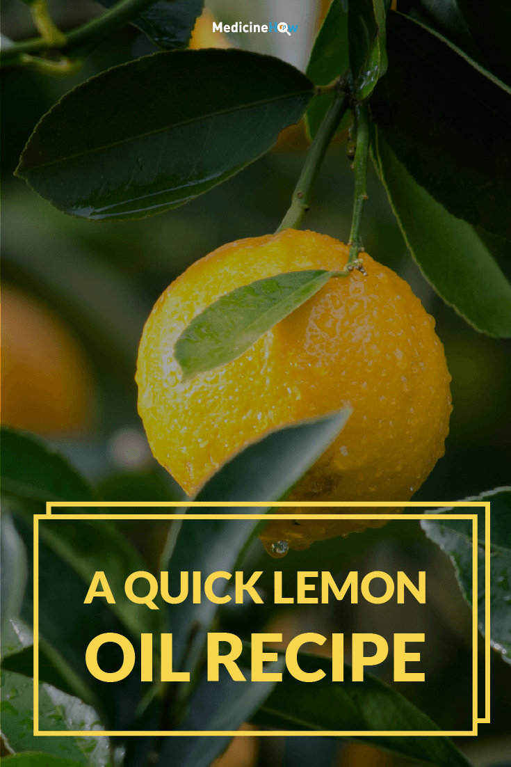 A quick Lemon Oil recipe