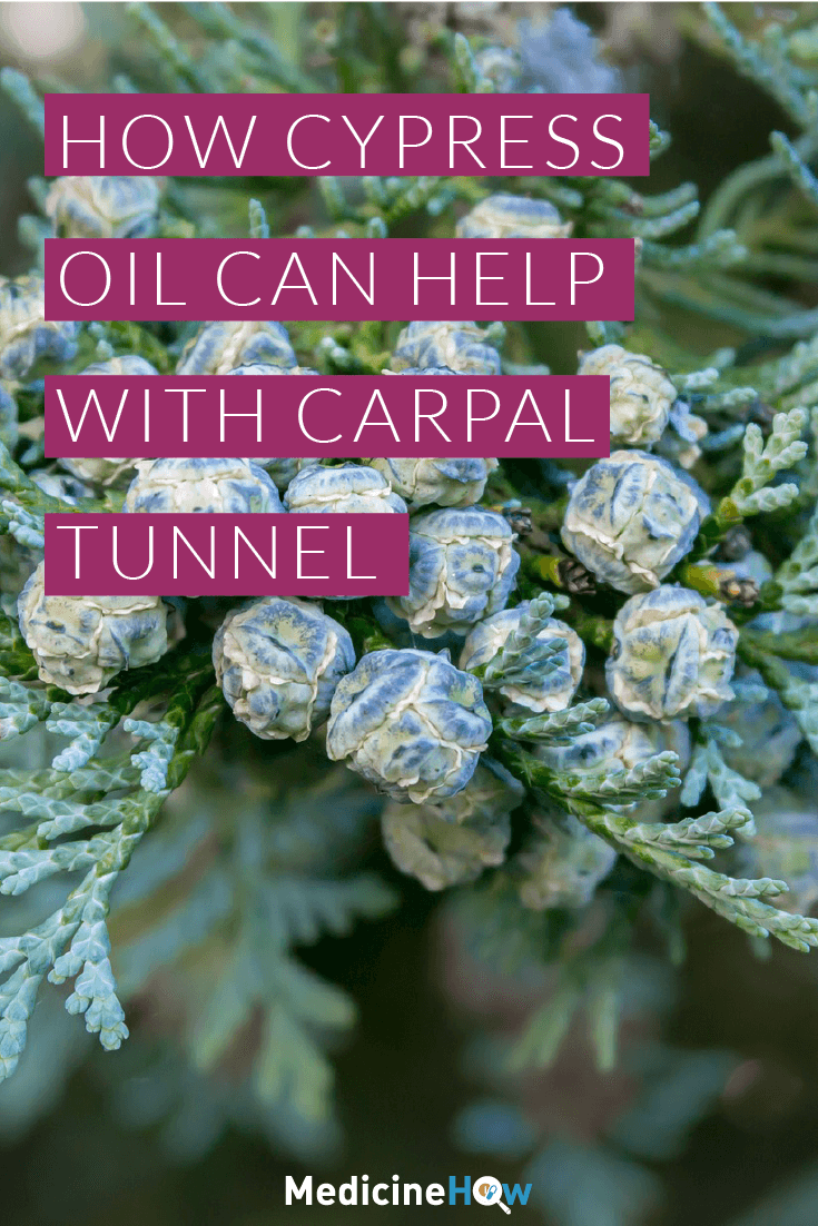 How Cypress Oil can help with Carpal Tunnel