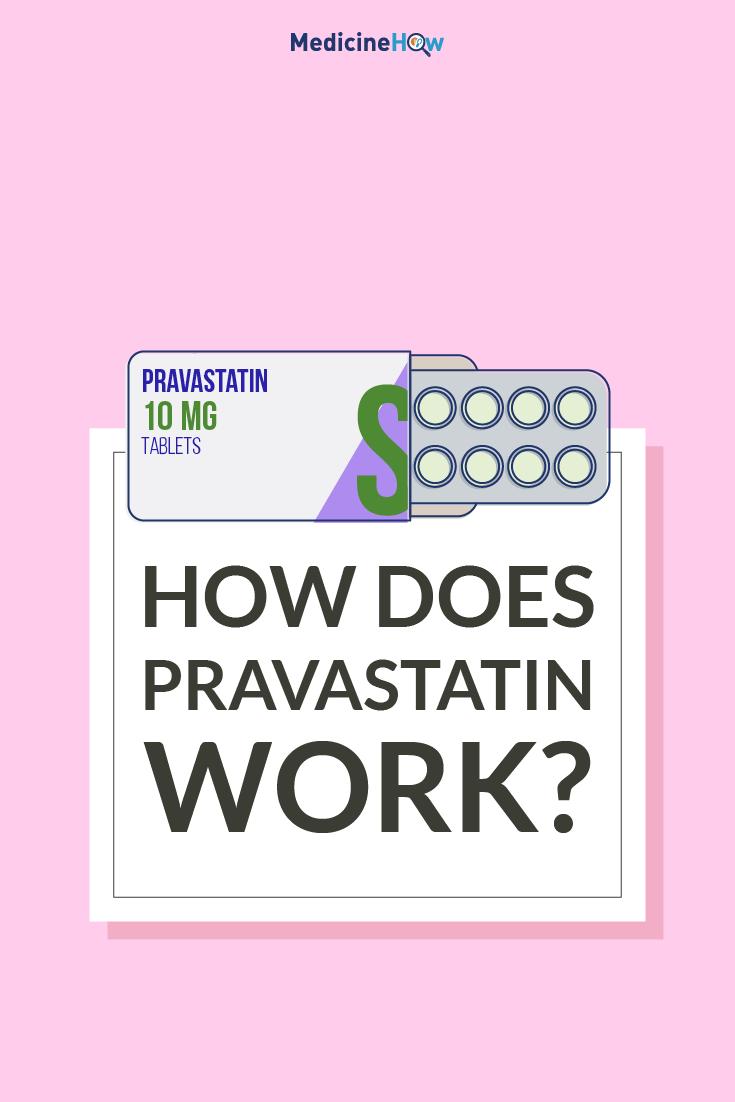 How does Pravastatin work?