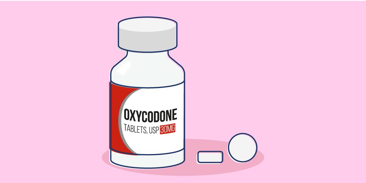 Oxycodone mu receptor