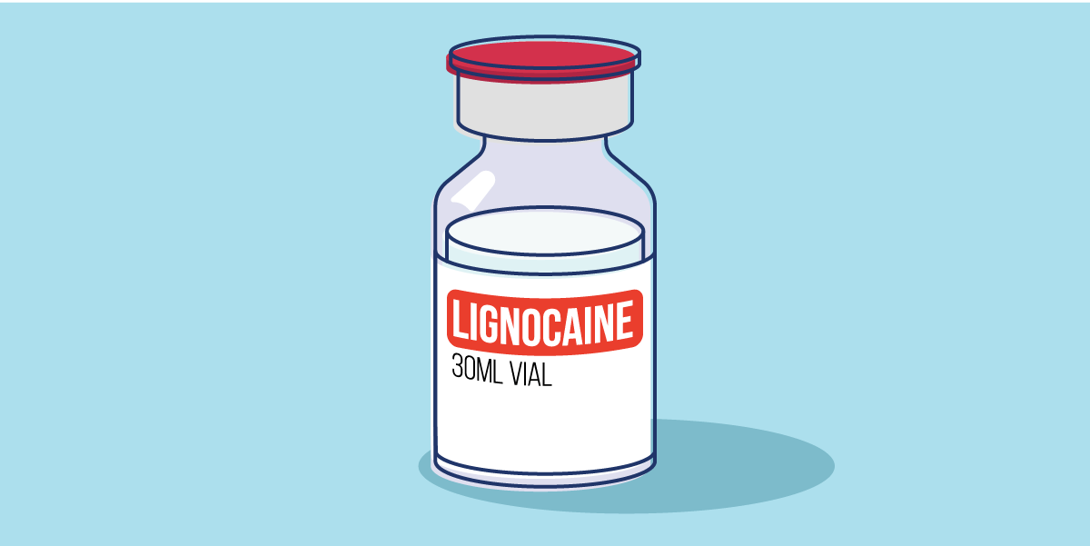 How does Lignocaine work