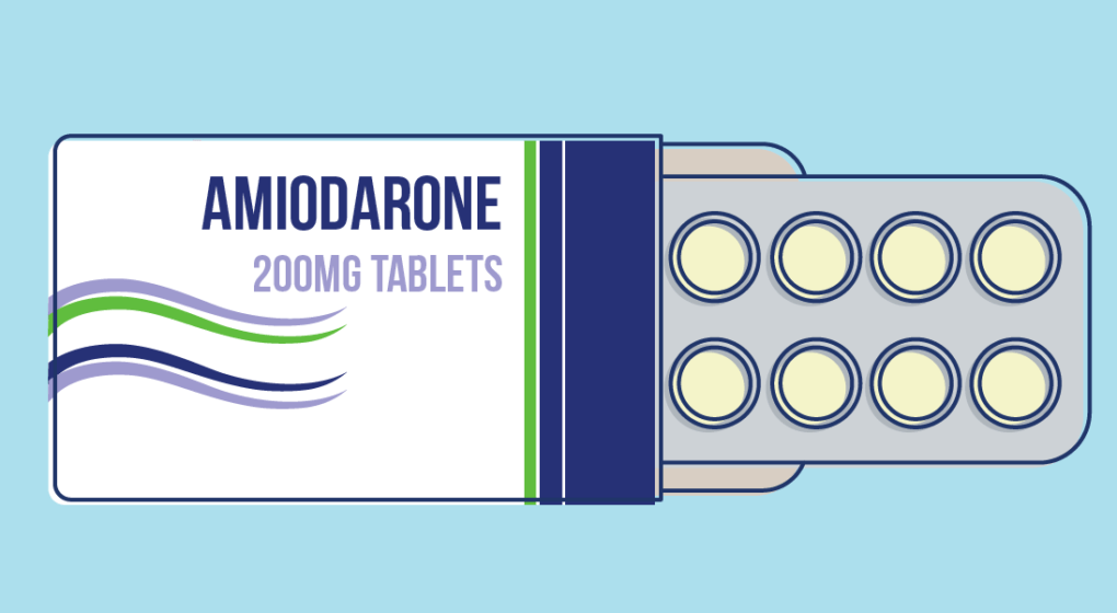 Amiodarone how long to get out of system