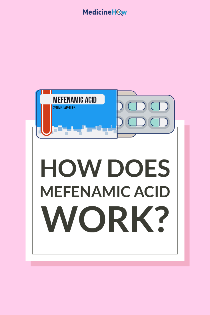 How Does Mefenamic acid Work?