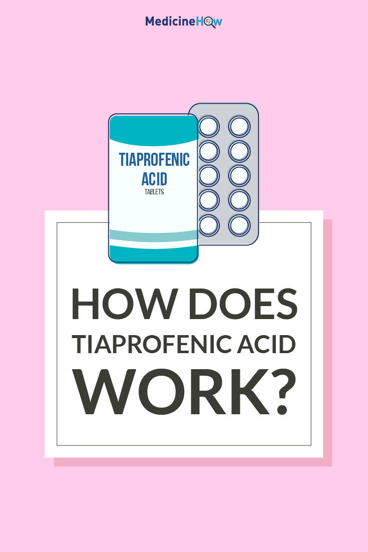 How Does Tiaprofenic Acid Work?