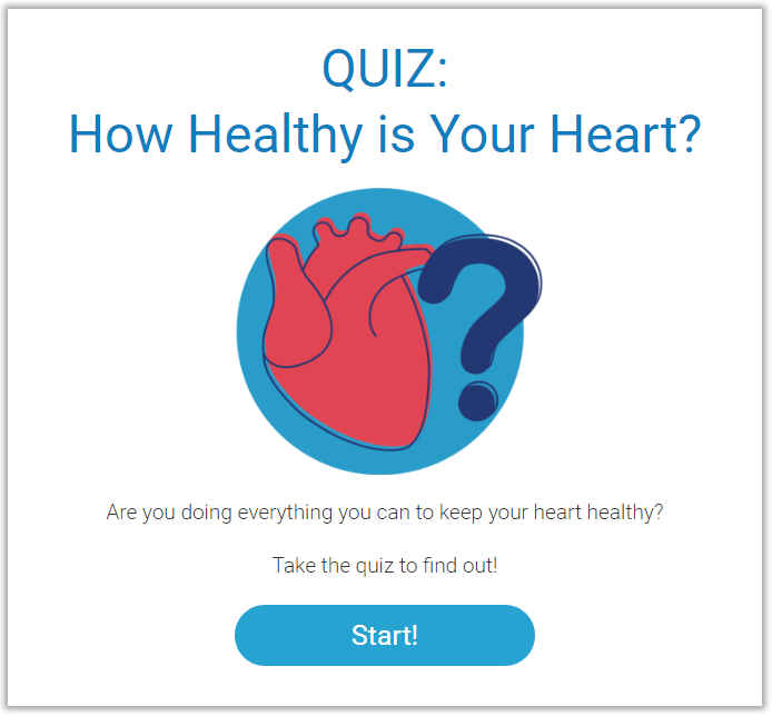 How Healthy is Your Heart Quiz