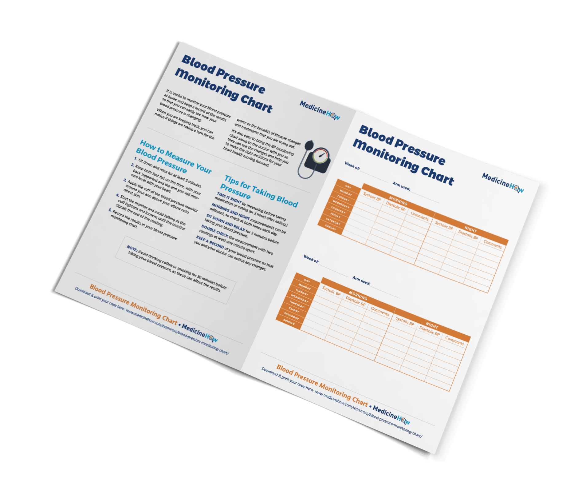 Blood pressure monitoring chart medicinehow blood pressure monitoring chart keep track of changes in blood pressure so you can talk to your doctor and take action if needed nvjuhfo Choice Image